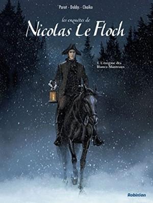 """Afficher """"Les enquêtes de Nicolas Le Floch n° 1L'énigme des Blancs-Manteaux"""""""