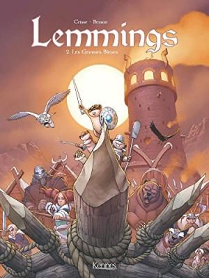 """Afficher """"Lemmings n° 2 Les gemmes bleues : Lemmings, 2"""""""