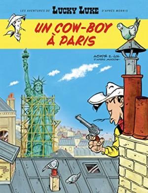 """Afficher """"Les aventures de Lucky Luke d'après Morris Un cow-boy à Paris"""""""