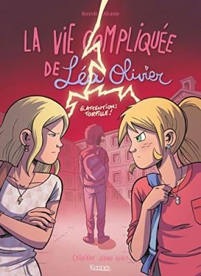 """Afficher """"La vie compliquée de Léa Olivier n° 6 Attention"""""""