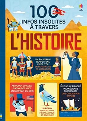 """Afficher """"100 infos insolites à travers l'histoire"""""""
