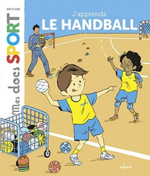 "Afficher ""J'apprends le handball"""