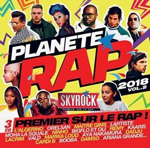 """Afficher """"Planète rap 2018 vol.2"""""""