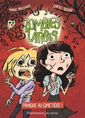 Couverture de Zombies zarbis n° 1 : Panique au cimetière !
