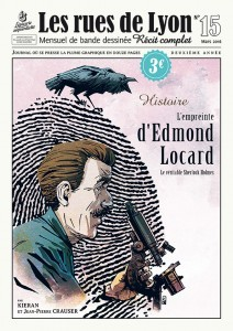 """Afficher """"Les Rues de Lyon n° 15 Empreinte d'Edmond Locard (L')"""""""