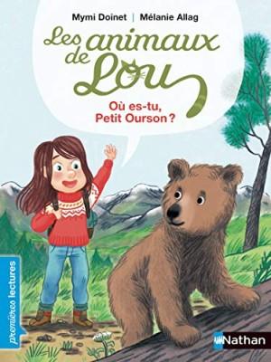 """Afficher """"Les animaux de Lou Où es-tu, petit ourson ?"""""""