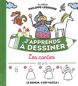 """Afficher """"J'apprends à dessiner n° 19 Les contes"""""""