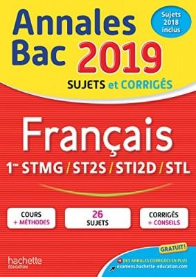 """Afficher """"Français 1res STMG, ST2S, STI2D, STL"""""""