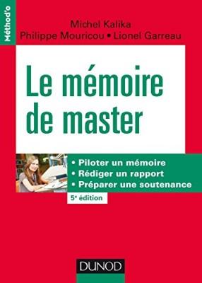 vignette de 'Le mémoire de master (Kalika, Michel)'