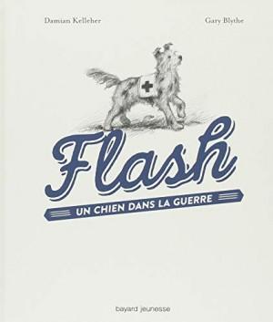 vignette de 'Flash, un chien dans la guerre (Damian Kelleher)'