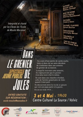 vignette de 'Dans le grenier de Jules (Nicolas Contamine)'