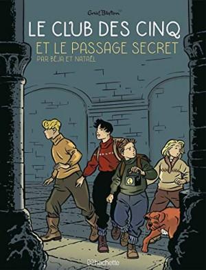"""Afficher """"Club des cinq BD Le club des Cinq et le passage secret"""""""