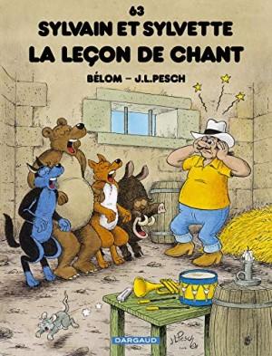 """Afficher """"Sylvain et Sylvette n° Tome 63 La leçon de chant"""""""