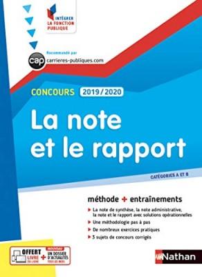 """Afficher """"La note et le rapport"""""""