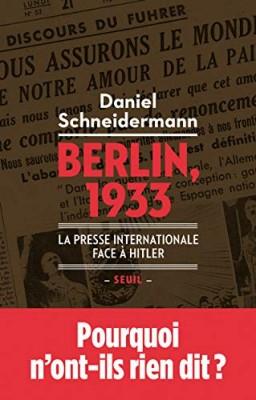 vignette de 'Berlin, 1933 (Schneidermann, Daniel)'