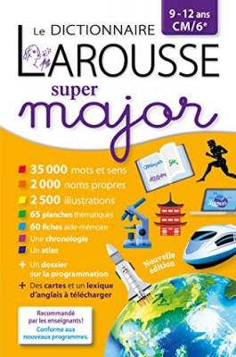 """Afficher """"dictionnaire Larousse super major (Le)"""""""
