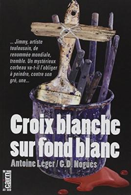 """Afficher """"Croix blanche sur fond blanc"""""""