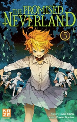 "Afficher ""The promised Neverland n° 5 L'évasion"""