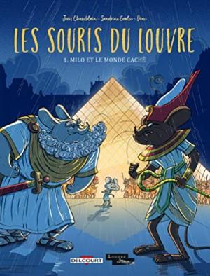 """Afficher """"Les Souris du Louvre n° 1 Milo et le monde caché"""""""