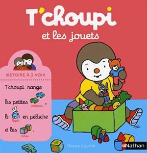"""Afficher """"Histoire à deux voix n° 14 T'choupi et les jouets"""""""