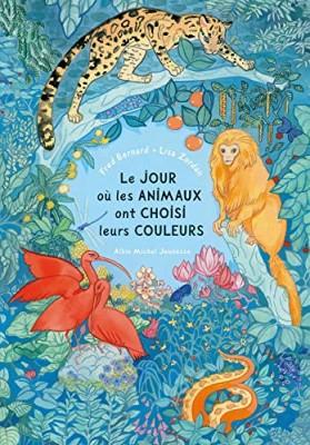vignette de 'Le jour où les animaux ont choisi leurs couleurs (Frédéric Bernard)'