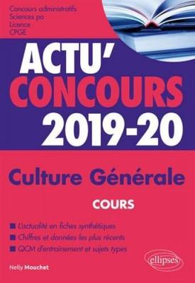 """Afficher """"Culture générale 2019-2020"""""""