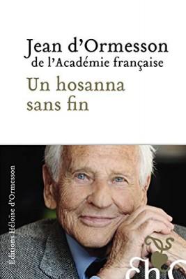 """Afficher """"Un hosanna sans fin"""""""