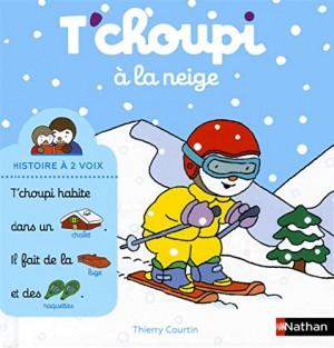 """Afficher """"Histoire à deux voix n° 7 T'choupi à la neige"""""""