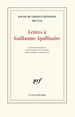 """Afficher """"Lettres à Guillaume Apollinaire"""""""