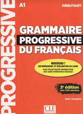 """Afficher """"Grammaire progressive du français, niveau débutant, A1"""""""