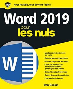 """Afficher """"Word 2019"""""""