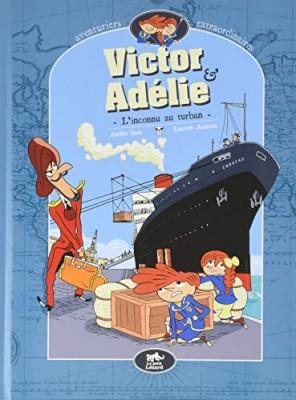 """Afficher """"Victor & Adélie, aventuriers extraordinaires n° 1L'inconnu au turban"""""""