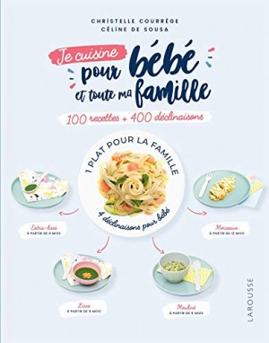 """Afficher """"Je cuisine pour bébé et toute ma famille"""""""