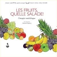 """Afficher """"L'imagier multilingue Les fruits, quelle salade !"""""""