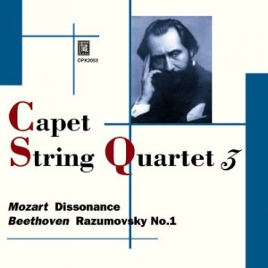 "Afficher ""Capet String Quartet (Mozart Dissonance - Bee"""