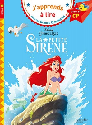 """Afficher """"J'apprends à lire avec les grands classiques La petite sirène"""""""