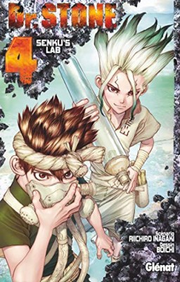"Afficher ""Dr. Stone n° 4 Senku's lab : Dr Stone, 4"""