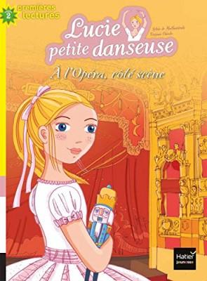 """Afficher """"Lucie petite danseuse n° 8 À l'opéra, côté scène"""""""