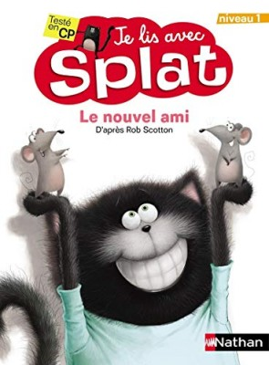 """Afficher """"Je lis avec Splat - Le nouvel ami"""""""