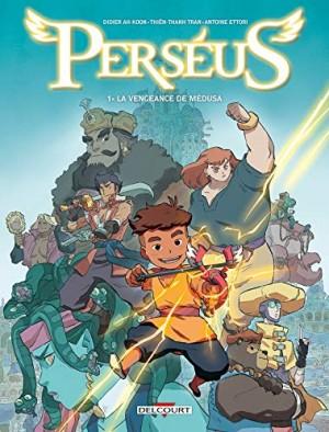 vignette de 'Perséus n° 1<br /> La vengeance de Médusa : Perséus, 1 (Didier Ah-Koon)'