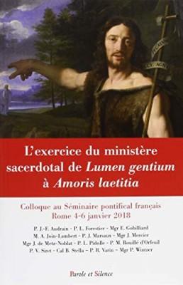 L'exercice du ministère sacerdotal, de Lumen gentium à Amoris laetitia
