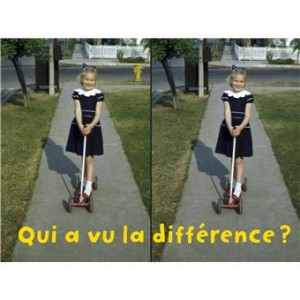 """Afficher """"Qui a vu la différence ?"""""""