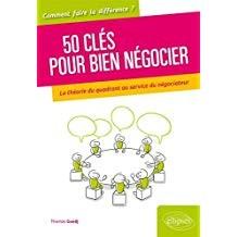 """Afficher """"50 clés pour bien négocier"""""""
