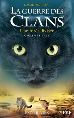 """Afficher """"La Guerre des clans n° Cycle 5 / Tome 5 Une Forêt divisée"""""""