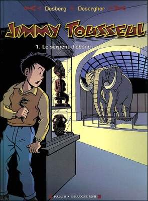 """Afficher """"Les Aventures de Jimmy Tousseul n° 1 Le Serpent d'ébène"""""""