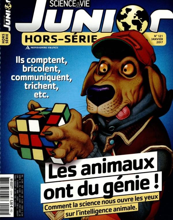 Science & vie Junior n° 121<br /> Les animaux ont du génie !