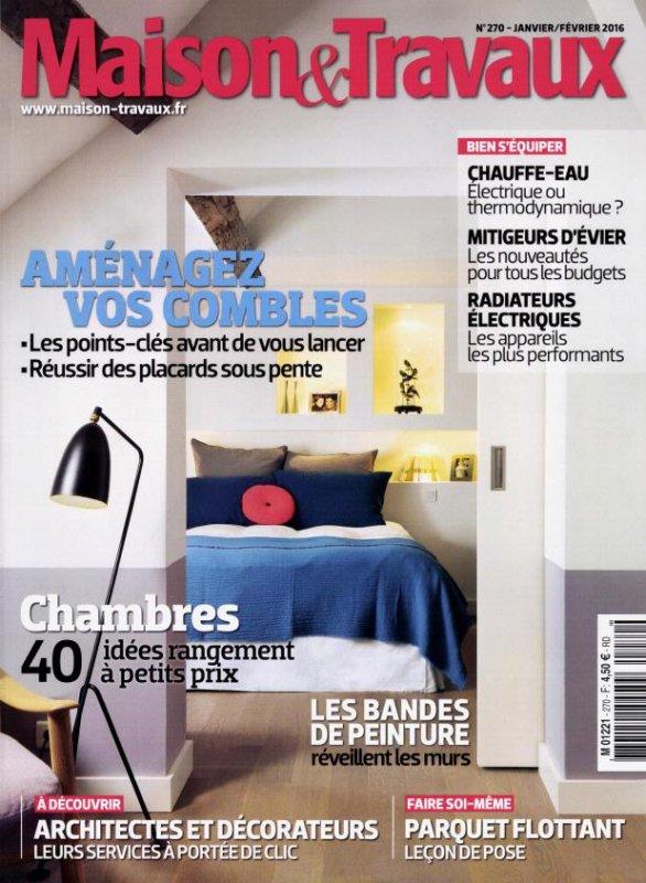 Maison & Travaux n° 270<br /> Maison & Travaux - (janvier-février 2016)