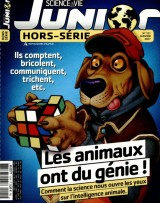 """Afficher """"Science & vie Junior n° 121<br /> Les animaux ont du génie !"""""""