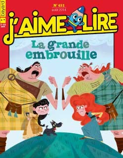 "Afficher ""J'aime lire n° 451<br /> J'aime lire - août 2014"""