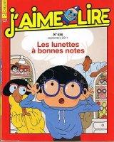 """Afficher """"J'aime lire n° 416<br /> Les Lunettes à bonnes notes (septembre 2011)"""""""